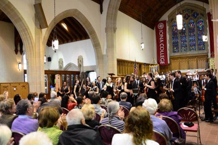 PAVE Orchestra Performs at Iona College