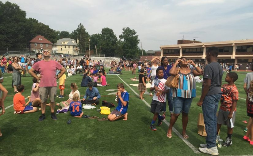 Eclipse 2017 from New Rochelle High School