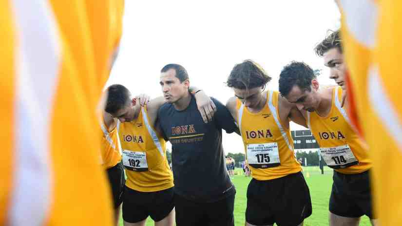 Iona Men's Cross Country Ranked Eighth in USTFCCCA National Poll