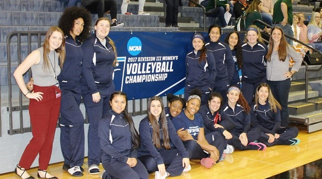 Women's Volleyball Finishes Season at NCAA Georgetown Regional