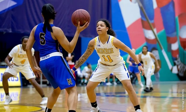 Strong Defensive Performance Lifts Monroe Women's Basketball over Baltimore City