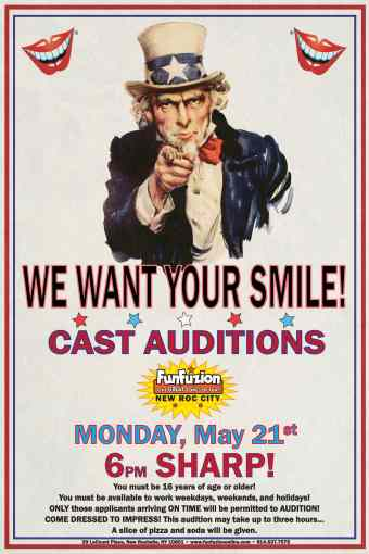 We Want Your Smile!