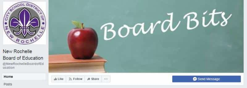 Board of Education Introduces New Facebook Page