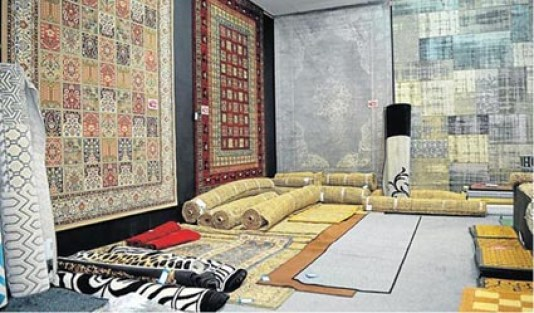 CARPETS AND MORE: Come and see Top Carpet's new rug showroom at Rosehill Mall