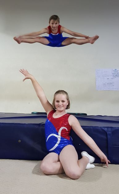KEEN COMPETITORS: Stafford Avis, top, and Jessica Harty are waiting to hear if they have qualified for the EC team for the South Zone competition which will be held in Uitenhage next week