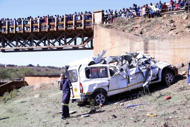 18 dead as passengers flung from taxi in horror Pietermaritzburg crash