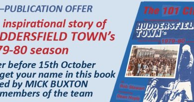 Town legends re-live glory days in new book by Huddersfield man