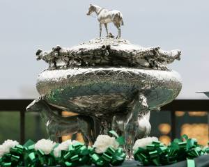BELMONT STAKES TROPHY