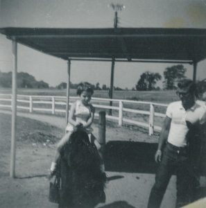 Marion and Horse 1959
