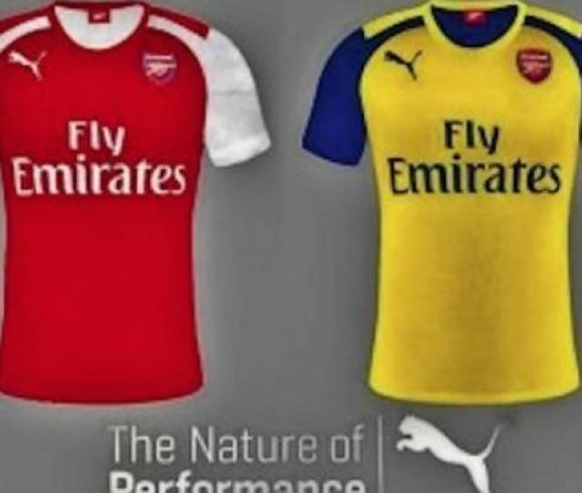 Click The Arrow To See More Images Of Arsenals Rumoured New Kit