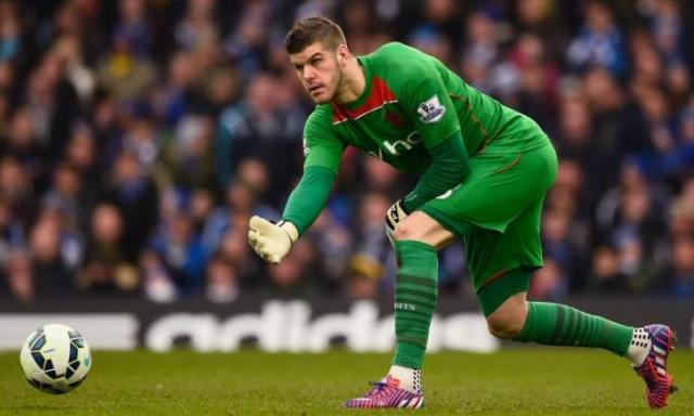 Southampton and England goalkeeper Fraser Forster could make an early return to action after long-term injury