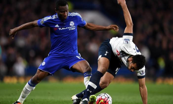 12. John Obi Mikel (central midfielder)