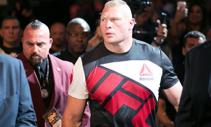 Brock Lesnar suspended for drug test failure
