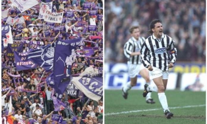2. Roberto Baggio joining Juve causes a riot in Florence