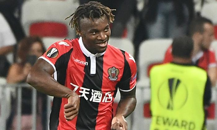 =26. Allan Saint-Maximin (Nice) has a WhoScored.com rating of 7.06 in 14 appearances
