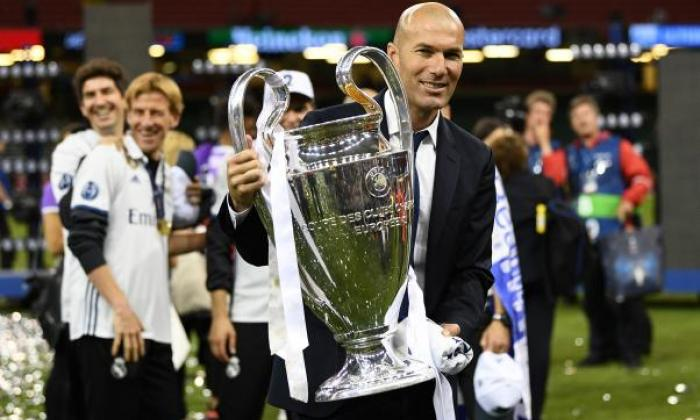 = 17th Zinedine Zidane - 3 trophies