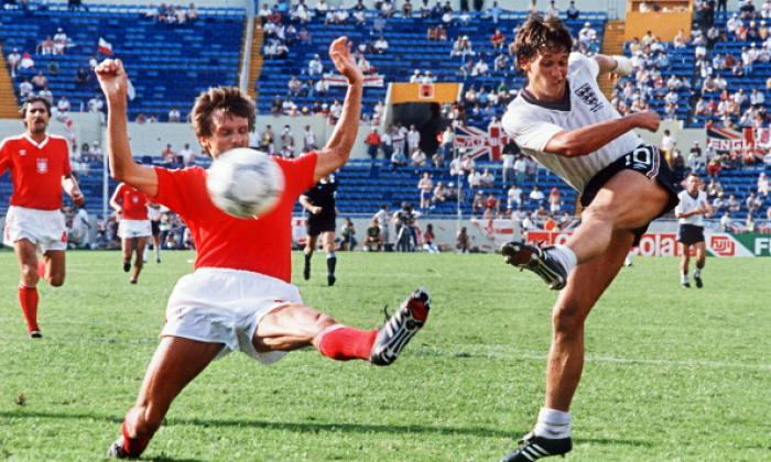 Iconic World Cup players: England striker Gary Lineker and his ...