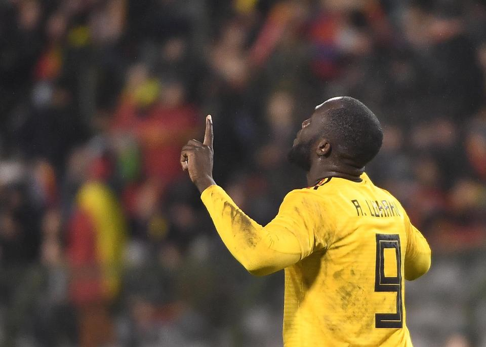Lukaku will lead the line for Belgium in Russia  Who is the favourite to win the Golden Boot at the World Cup in Russia this summer? GettyImages 938843926