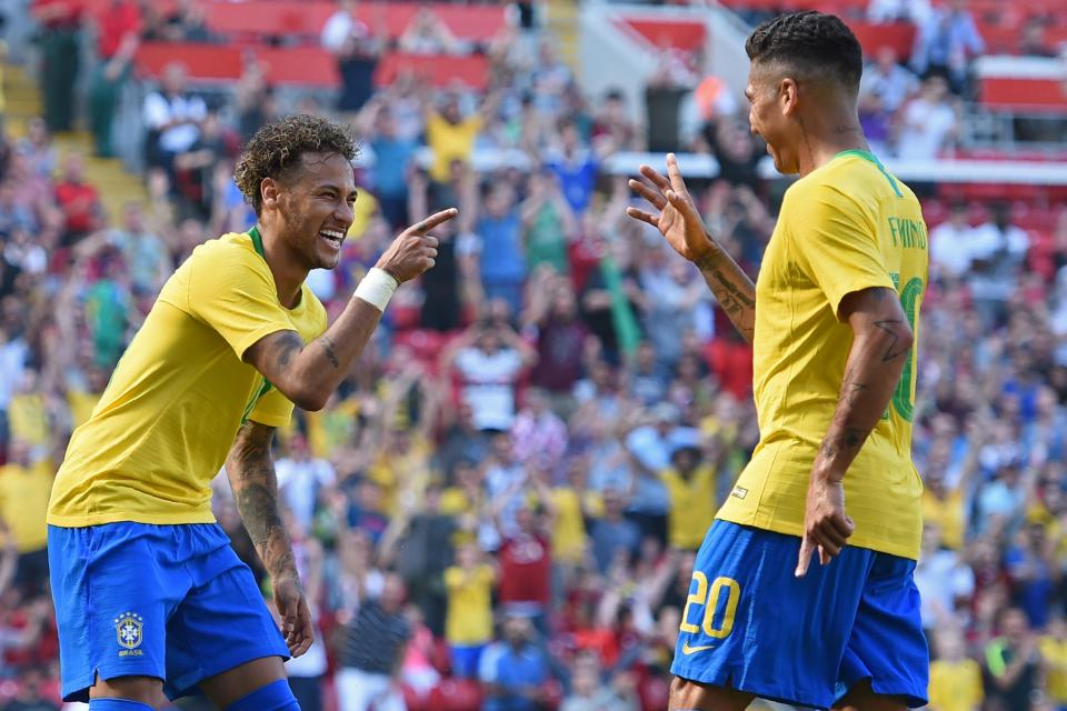 Neymar and Robert Firmino are part of an incredible Brazil squad  Brazil, France, England, Germany, Spain and ALL the 32 squads selected for Russia GettyImages 9666151961