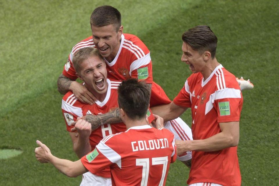 Russia needed to win the game if they had any ambitions of making it to the knockout stages