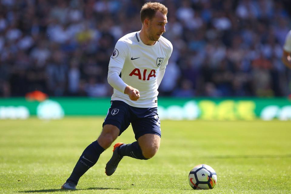 11= Christian Eriksen (Tottenham Hotspur) – £9.5million  The 10 most expensive players revealed FPL 3