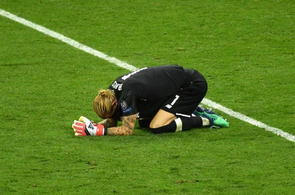 Karius' Liverpool future looked doomed after his disastrous performance in the Champions League final  Liverpool fans make incredible gesture to goalkeeper Loris Karius during Chesterfield friendly GettyImages 962780490