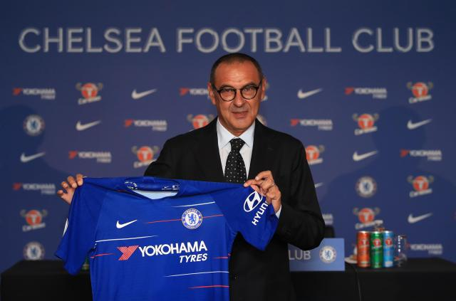 Sarri enjoyed initial success at Chelsea, but the same problems have come back to disrupt their season