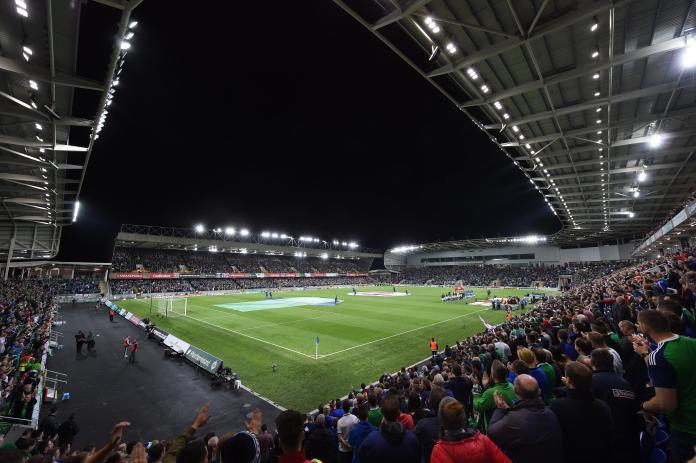 Windsor Park usually hosts Northern Ireland's international football matches
