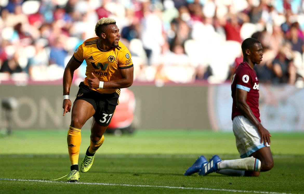 Adama Traore has scored just once for Wolves