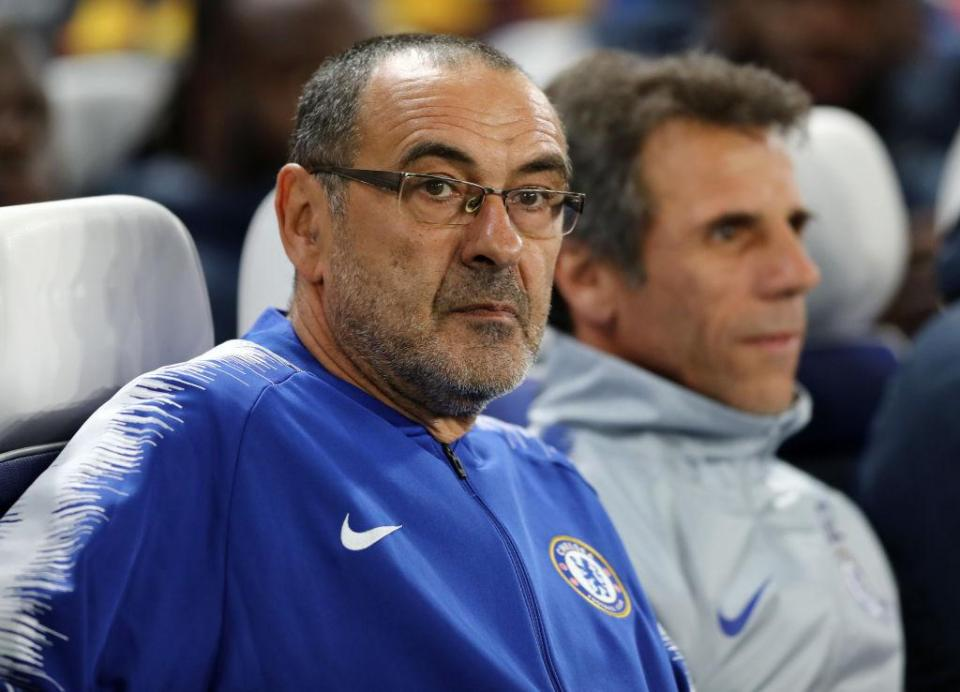Loftus-Cheek's exploits have given Maurizio Sarri plenty to think about  Brilliant Ruben Loftus-Cheek hat-trick helps Blues coast to Europa League win GettyImages 1053400304