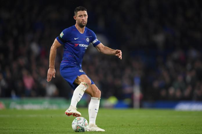 Gary Cahill has not been able to force his way into Maurizio Sarri's first team