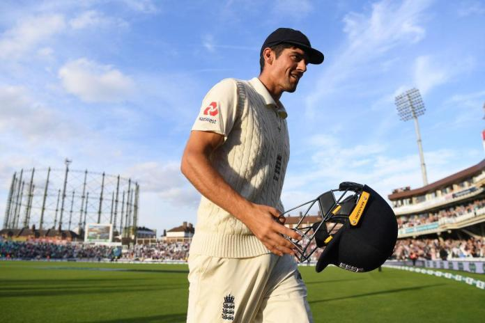 Alastair Cook signed off his England career with a century against India