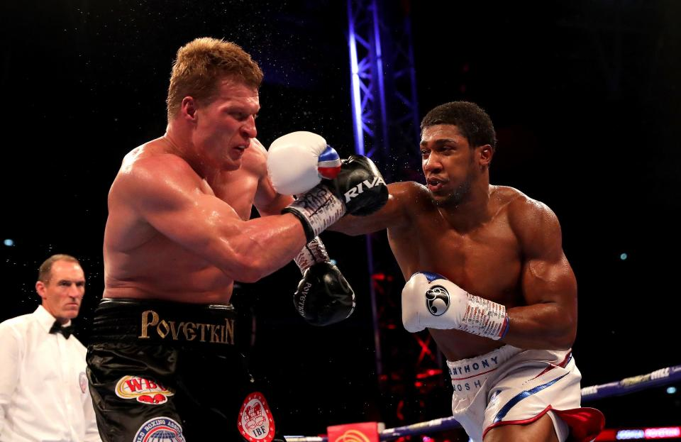 Alexander Povetkin is perhaps Joshua's most underrated win - Russian knockout Dillian Whyte two years after being stopped by AJ