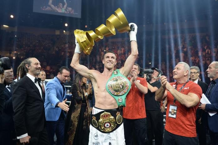 Callum Smith won the World Boxing Super Series