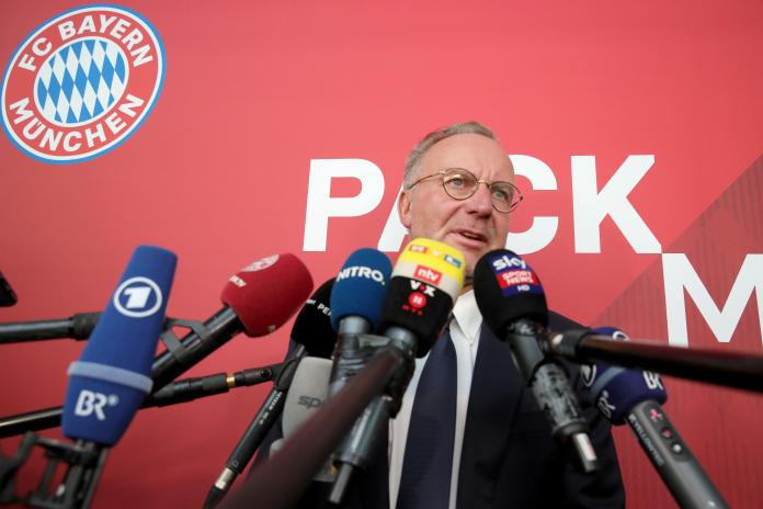 Bayern's chief executive Karl-Heinz Rummenigge admits the fact there is a release clause in Hernandez's contract is an advantage