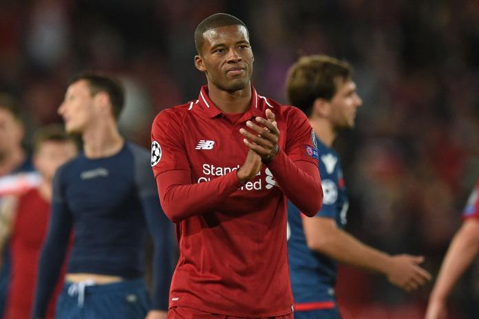 Georginio Wijnaldum (Centre midfield)