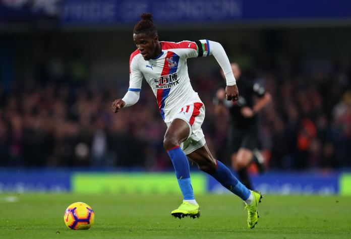 Wilfired Zaha is the main man for Crystal Palace