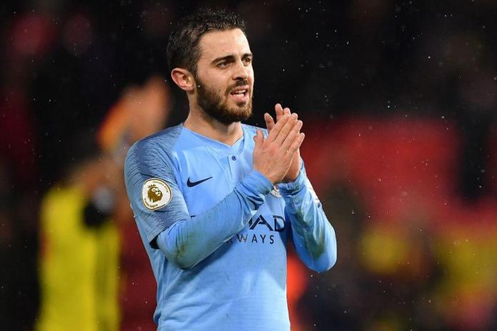 Silva joined City in May 2017 for a fee of £43.5m