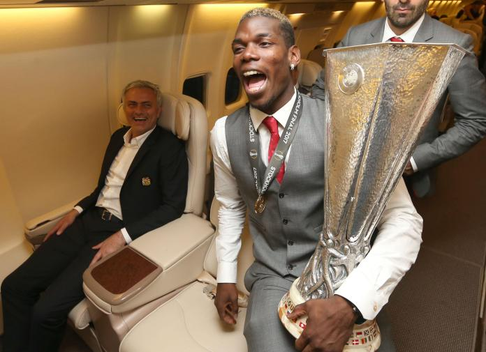 Jose Mourinho led Manchester United to Europa League glory in May 2017