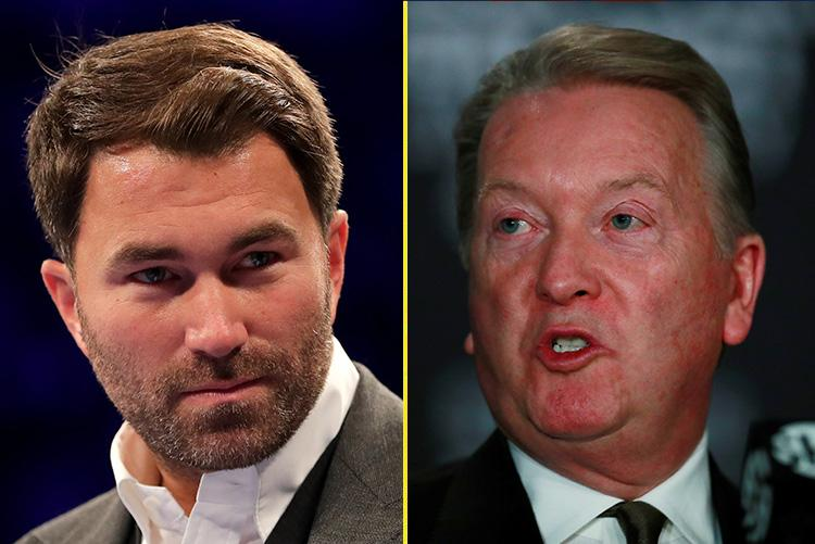 Hearn and Warren are two of the biggest names in boxing, but they don't get along