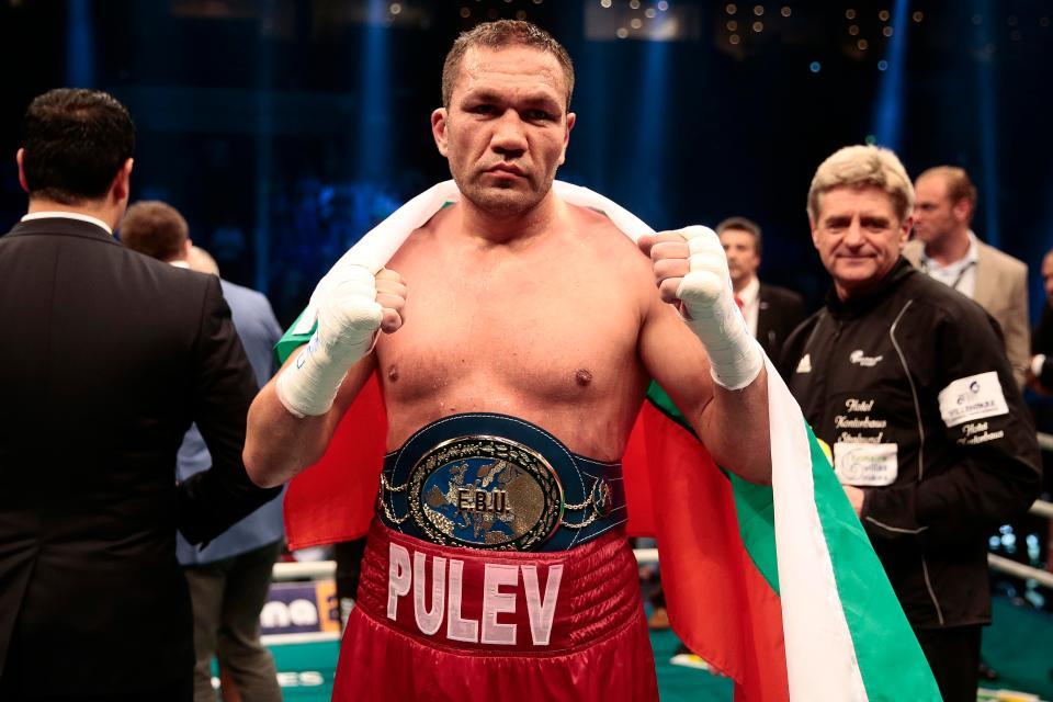 Kubrat Pulev is the mandatory IBF challenger