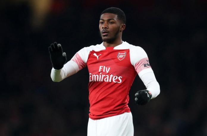 Maitland-Niles is known as a midfielder but is learning his trade at right-back