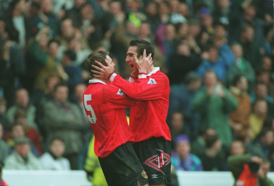 Lee Sharpe claims Eric Cantona was 'one of the lads'  Manchester United legends Roy Keane and Eric Cantona are both misunderstood, claims Lee Sharpe GettyImages 1245638