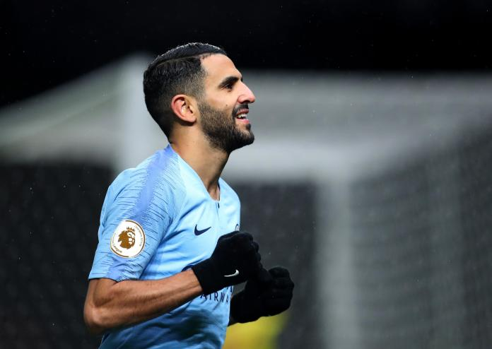 Mahrez joined City in the summer