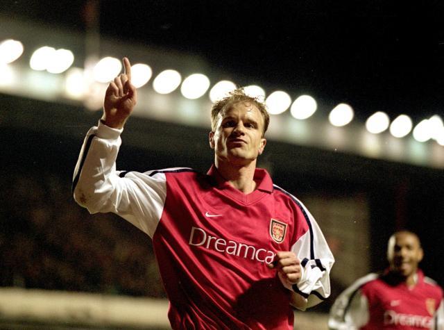 Dennis Bergkamp is beloved by Arsenal fans