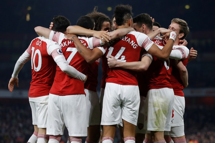 Arsenal was at their best brilliant Wednesday night