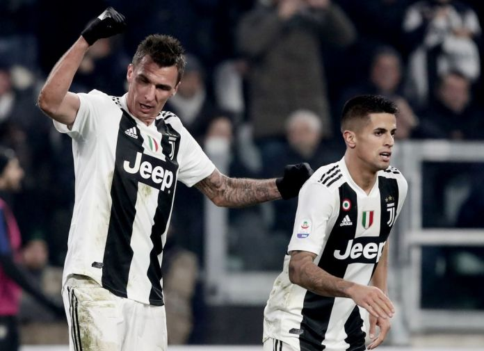 Mario Mandzukic scored the only goal of the game when Juventus played Inter Milan last time in December 2018
