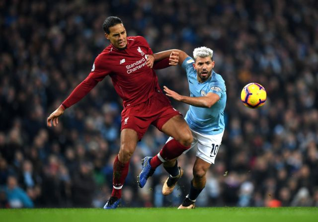 Gough was very impressed with the way Van Dijk dealt with the likes of Sergio Aguero when Liverpool lost to City in January