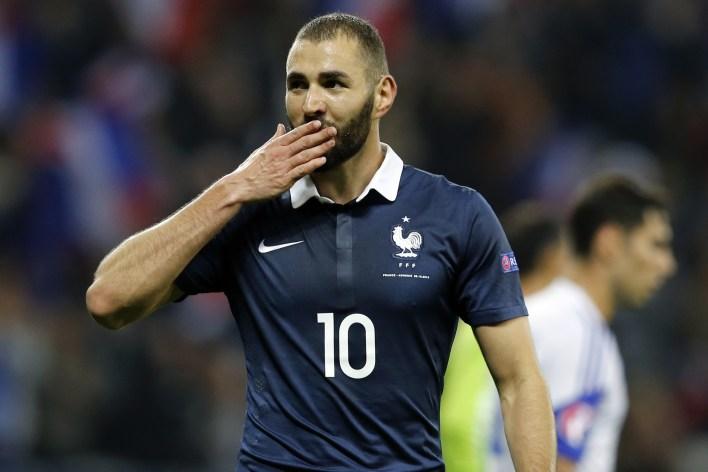 Karim Benzema 2015'ten beri Fransa'da oynamadı