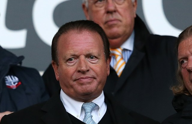Bolton chairman Ken Anderson has been eager to sell the club